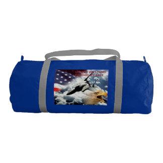 Patriotic gym bag