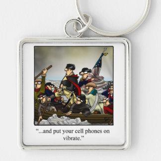 Patriotic Humorous Key Chain