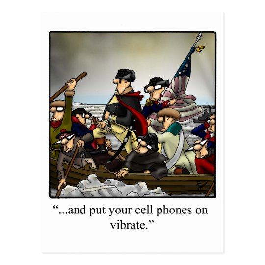 Patriotic Humourous Postcard