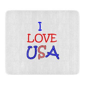 Patriotic I Love USA Boards