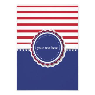 Patriotic invitation