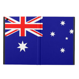 Patriotic ipad case with Flag of Australia