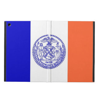 Patriotic ipad case with Flag of New York City