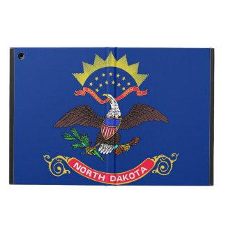 Patriotic ipad case with Flag of North Dakota