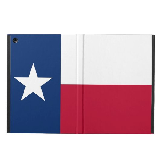Patriotic ipad case with Flag of Texas