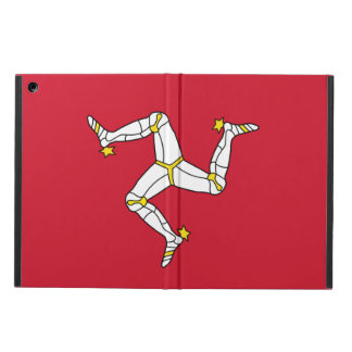 Patriotic ipad case with Isle of Man Flag, UK