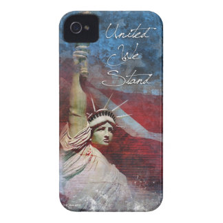 Patriotic iPhone 4 case with Statue of Liberty