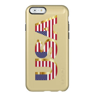 Patriotic iPhone 6/6s Feather® Shine Gold Case Incipio Feather® Shine iPhone 6 Case