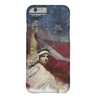 Patriotic iPhone 6 Case with Statue of Liberty Barely There iPhone 6 Case