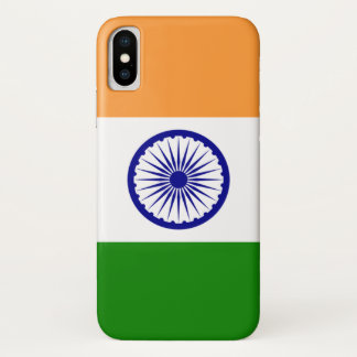 Patriotic Iphone X Case with Flag of India