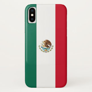 Patriotic Iphone X Case with Flag of Mexico