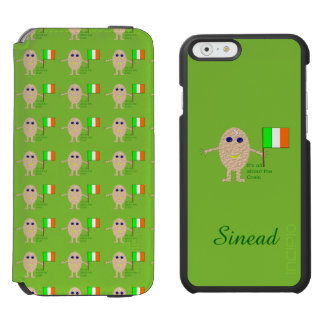 Patriotic Irish Egg Custom Incipio Watson™ iPhone 6 Wallet Case
