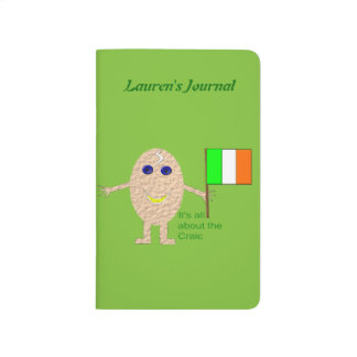 Patriotic Irish Egg Custom Wedding Journals