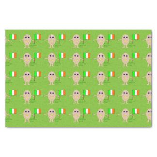 Patriotic Irish Egg Tissue Paper