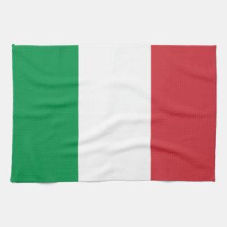 Patriotic Italian Flag Kitchen Towel