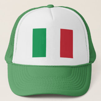 Patriotic Italian Flag Trucker Hat