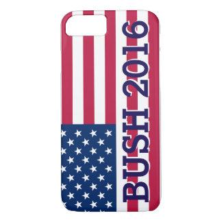 Patriotic Jeb Bush 2016 American Flag iPhone 7 Case