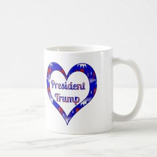 Patriotic Love President Trump Mugs Cups