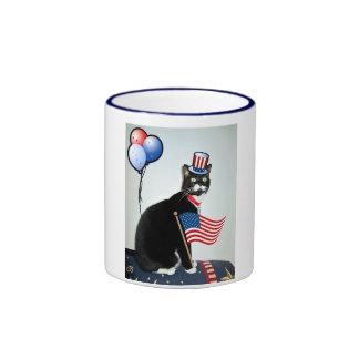 Patriotic Lucy Coffee Mug