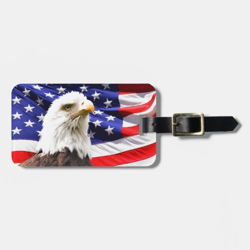 Patriotic Luggage Tags