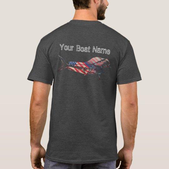 Patriotic Mahi Mahi Shirt