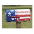 Patriotic Mailbox Post Card