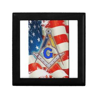 Patriotic Mason Gift Box