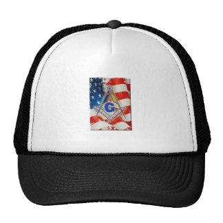 Patriotic Mason Trucker Hat