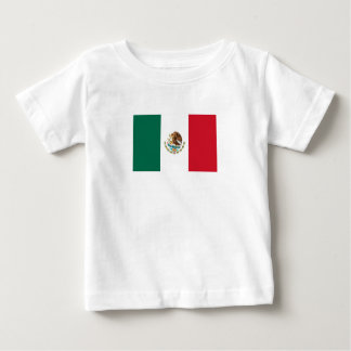 Patriotic Mexican Flag Baby T-Shirt