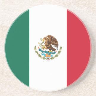 Patriotic Mexican Flag Coaster