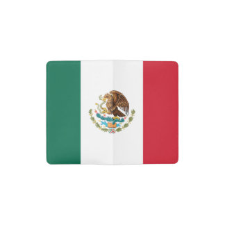 Patriotic Mexican Flag Pocket Moleskine Notebook