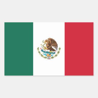 Patriotic Mexican Flag Sticker