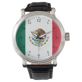 Patriotic Mexican Flag Watch