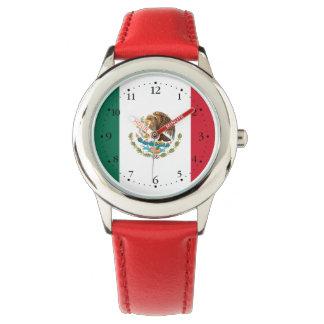 Patriotic Mexican Flag Watch