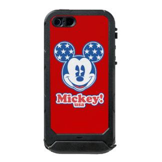 Patriotic Mickey Mouse Stars Incipio ATLAS ID™ iPhone 5 Case