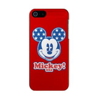 Patriotic Mickey Mouse Stars Incipio Feather® Shine iPhone 5 Case