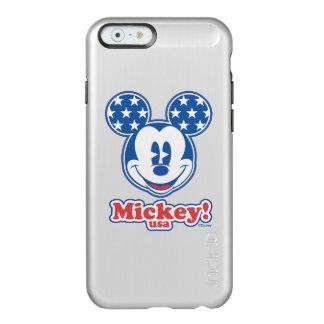 Patriotic Mickey Mouse Stars Incipio Feather® Shine iPhone 6 Case