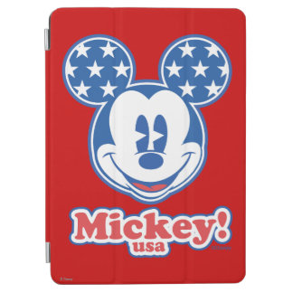 Patriotic Mickey Mouse Stars iPad Air Cover