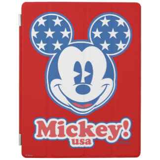 Patriotic Mickey Mouse Stars iPad Cover