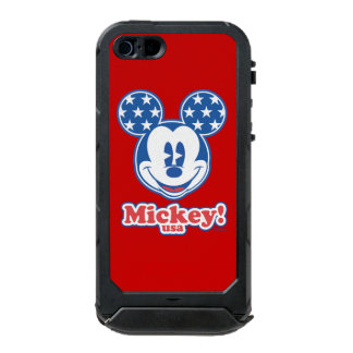 Patriotic Mickey Mouse Stars Incipio ATLAS ID™ iPhone 5 Case