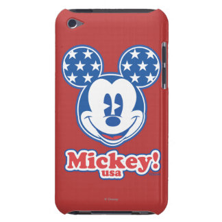 Patriotic Mickey Mouse Stars iPod Touch Case-Mate Case