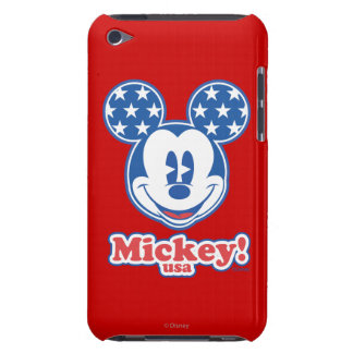 Patriotic Mickey Mouse Stars iPod Touch Cases