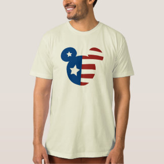 Patriotic Mickey Mouse Tee Shirts