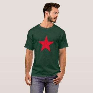 Patriotic Military Army War Red Star Symbol Sign T-Shirt
