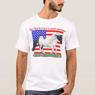 Patriotic Miniature Horse T-Shirt