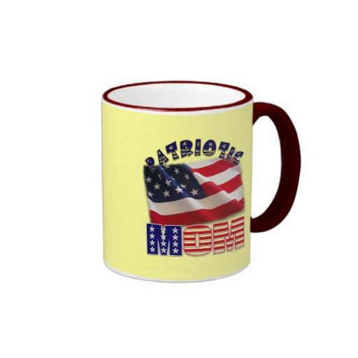 Patriotic Mom American Apparel Mugs