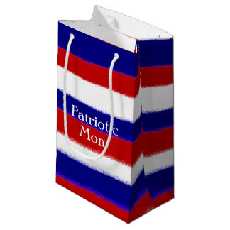 Patriotic Mom Small Gift Bag