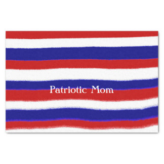 Patriotic Mom Tissue Paper