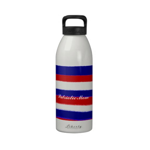 Patriotic Mom Drinking Bottle