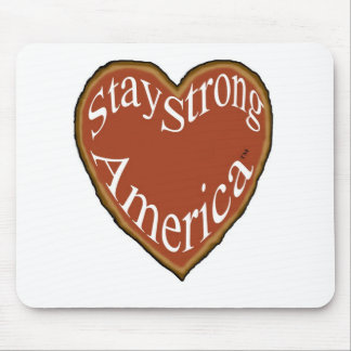 Patriotic Mousepad Stay Strong America